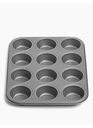 Marks & Spencer 12'li Muffin Kalıbı Gümüş